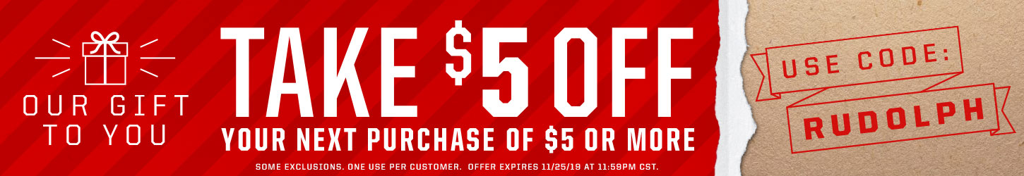 Take $5 Off Your Next Purchase Of $5 Or More